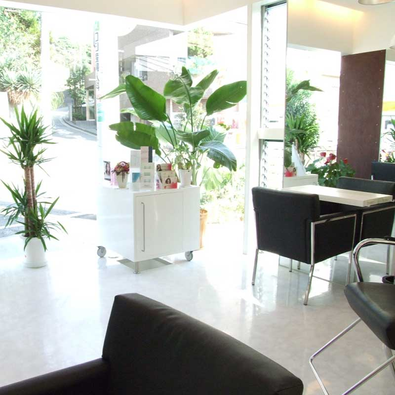 白楽の美容院ブリアンス 店舗イメージその3 店舗内観:待合室