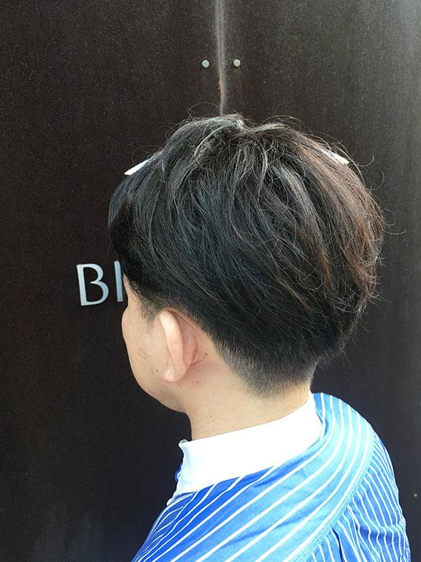 白楽の美容院ブリアンス ツーブロックメンズスタイル