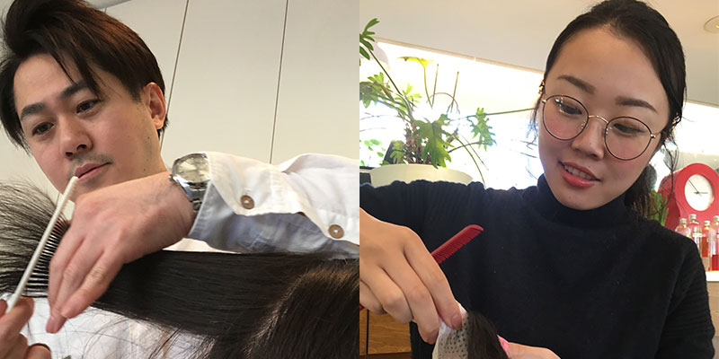 白楽の美容院ブリアンス-コンセプト-スタイリストがほぼマンツーマンで対応